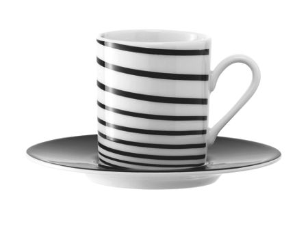 LSA Jazz coffee cup & saucer 100ml