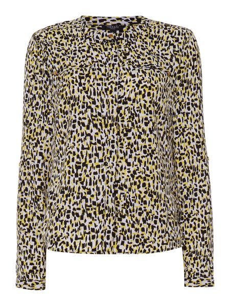 Therapy Mark Maker Print Blouse
