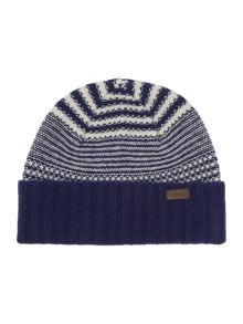Barbour Ashby stripe beanie