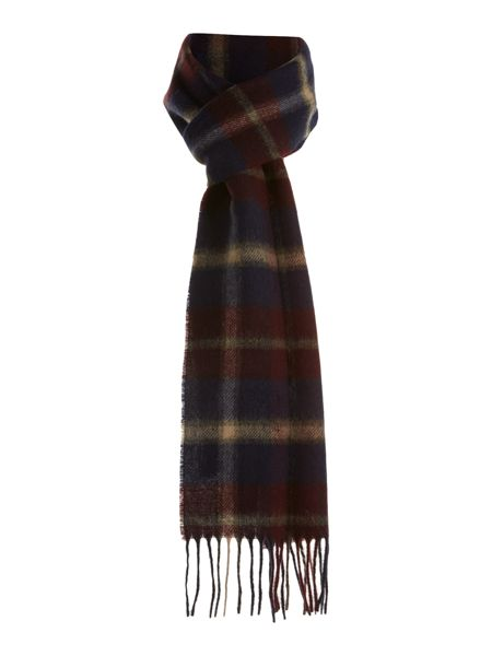 Barbour Hardwick plaid scarf