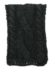 Barbour Maldon cable knit scarf