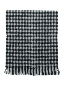 Barbour Hopsack check international scarf