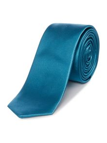 Kenneth Cole Solid satin silk tie