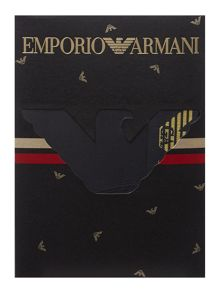 Emporio Armani Waistband stripe side logo trunk