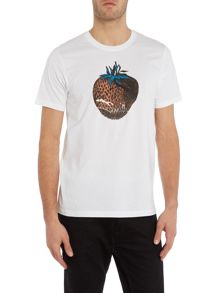 Paul Smith Jeans Regular fit strawberry logo printed t shirt