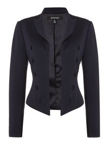 Ellen Tracy Cropped pea coat
