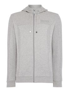 Hugo Boss Saggy Regular Fit Zip Up Hoodie