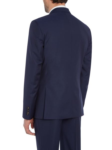 Ted Baker Single Breasted Kimodo Tonal Texture Suit Jacket