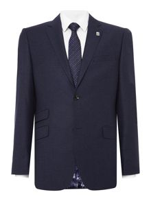 Ted Baker Single Breasted Buzard Flannel Jacket