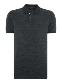Paul Smith Jeans Regular fit marled stripe polo shirt