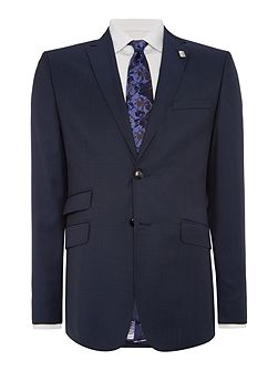 Single Breasted Gazelle Fashion Solid Suit Jacket