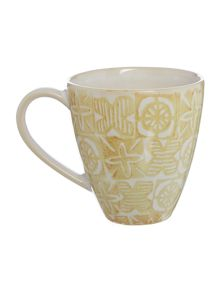Traveller Neutral Stamp Mug
