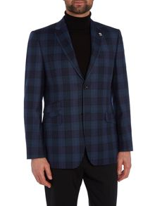Coyote Regular Check Blazer