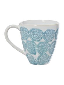 Traveller Blue Stamp Mug