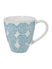 Linea Traveller Blue Stamp Mug
