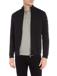 Hugo Boss Skaron Regular Fit Zip Up Jumper
