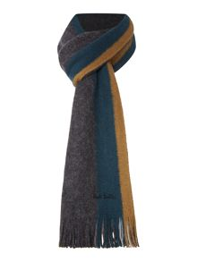 Paul Smith London Reverse stripe scarf