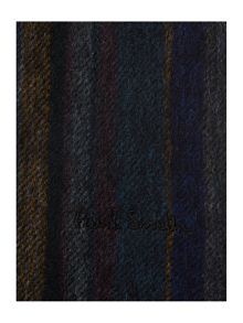 Paul Smith London Woven striped wool scarf
