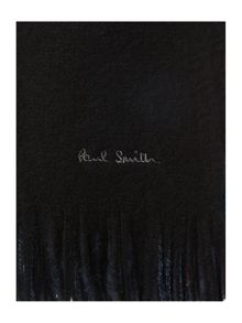 Paul Smith London Rainbow reversible wool scarf
