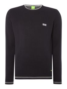 Rime Regular Fit Logo Knitted Jumper