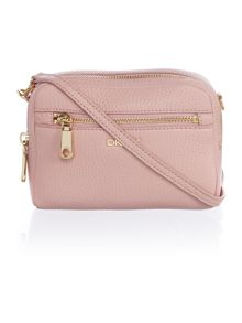 Tribeca light pink small cross body bag