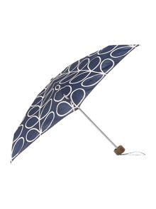 Fulton Orla Kiely linear leaf tiny umbrella