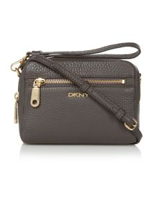 Tribeca dark grey small cross body bag