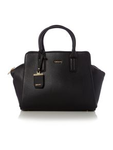 Tribeca black satchel bag
