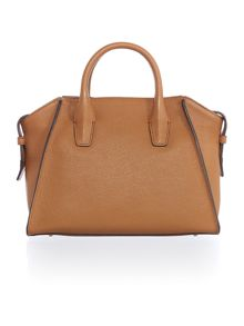 DKNY Chelsea light tan medium satchel