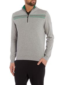 Zarm Regular Fit 1/2 Zip Knitted Jumper