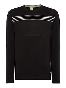 Men's Hugo Boss Rias Regular Fit Striped Knitted