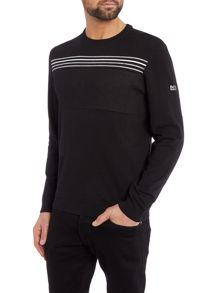 Rias Regular Fit Striped Knitted Jumper