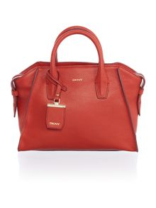 DKNY Chelsea red medium satchel