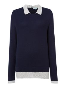 Collar and Cuff Jumper