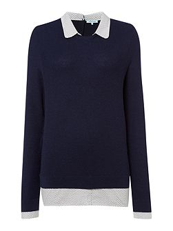 Dickins & Jones Collar and Cuff Jumper