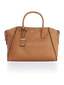 Chelsea light tan large satchel bag