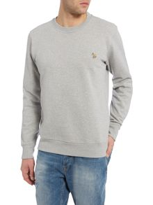Paul Smith Jeans Crew neck zebra logo sweatshirt
