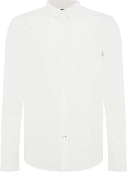 Paul Smith Jeans Tailored fit button down poplin shirt
