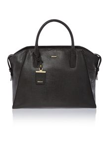 Sutton dark grey large satchel bag