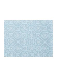 Linea Traveller Stamp Placemat Set Of 4