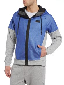 Bjorn Borg Skipton part coated hooded sweat