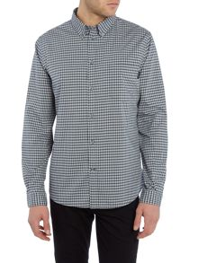 Paul Smith Jeans Tailored fit micro check shirt