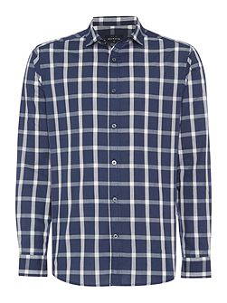 Men's Howick Finch check long sleeve shirt