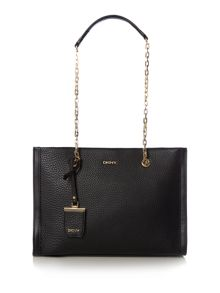 DKNY Tribeca black tote body