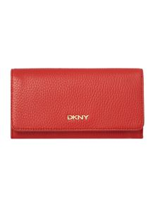 Tribeca red large flap over purse