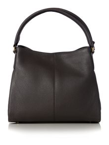 Tribeca dark grey hobo bag