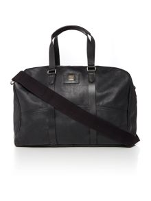 Hugo Boss Baxter leather holdall