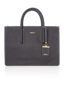 DKNY Saffiano black tote bag