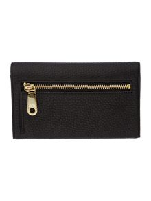 DKNY Tribeca black medium tech flap over purse