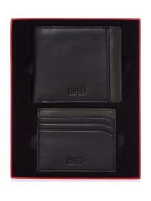 Gurnio wallet and cardholder gift set